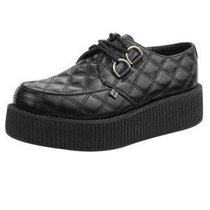 T.u.k.Footwear Viva Mondo Quilted Creeper